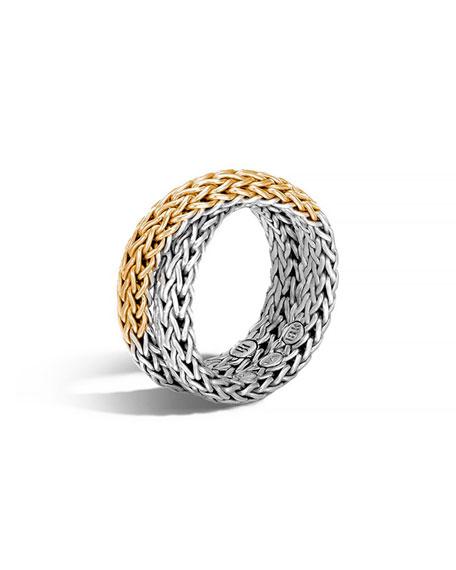 John Hardy 18K & Sterling Silver Crossover Chain