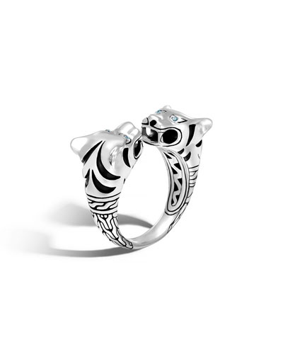 Legends Macan Tiger Silver Ring