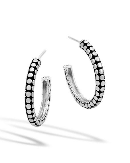 Dot Medium Hoop Earrings