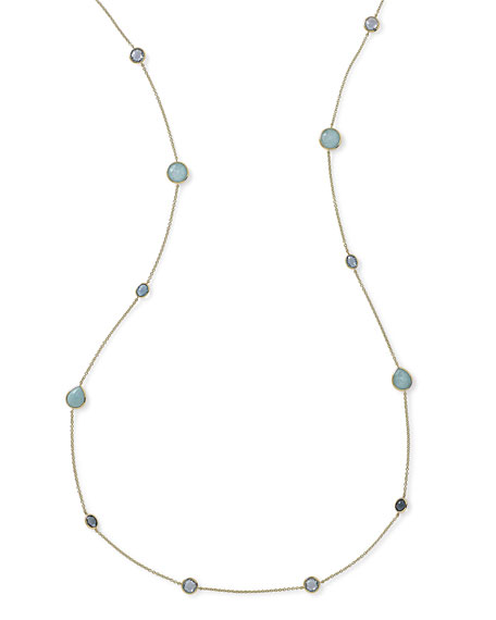 Ippolita 18K Gold Rock Candy?? Long Station Necklace,
