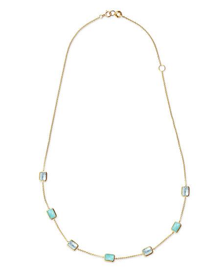 18K Rock Candy® Mini Gelato Station Necklace, Waterfall