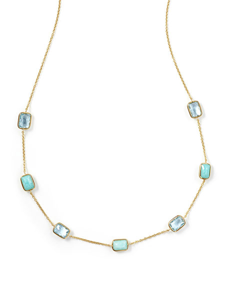 Ippolita 18K Rock Candy® Mini Gelato Station Necklace,
