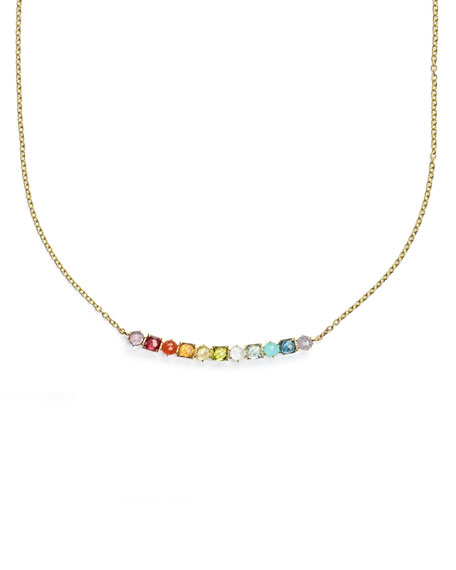 Ippolita 18K Rock Candy 11-Stone Necklace in Summer