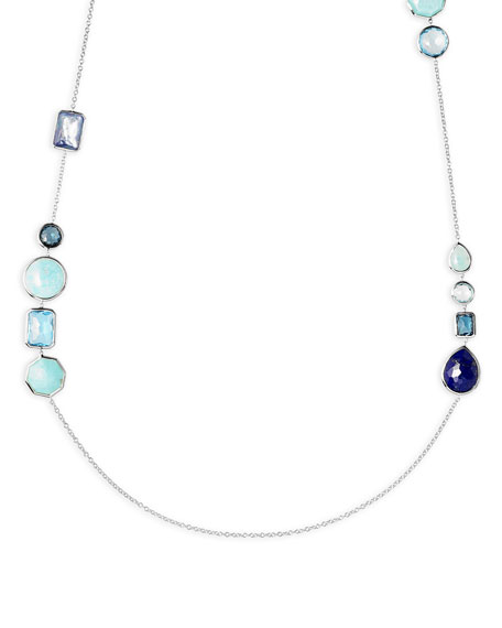Ippolita Rock Candy 18K Gold Multi-Stone Chain Necklace