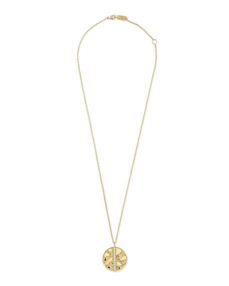 ICE18K Gold & Diamond Pendant Necklace