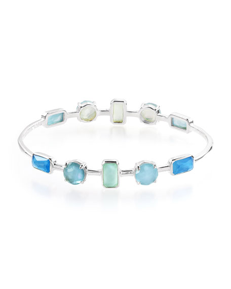 Ippolita Rock Candy Wonderland 10-Stone Bracelet in Blue