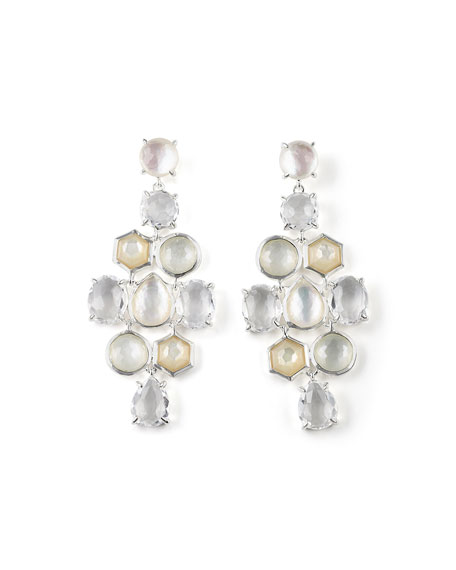 925 Rock Candy Cascade Earrings in Flirt