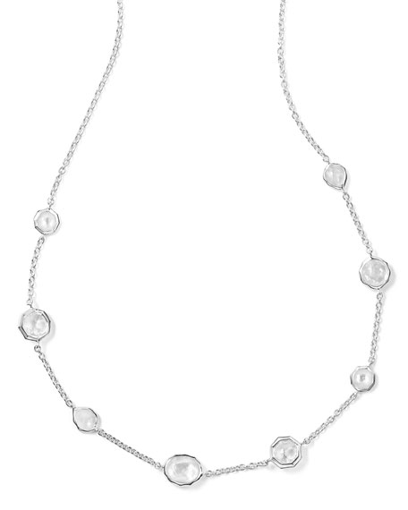 Ippolita Wonderland Mini Gelato Short Station Necklace in Flirt c2Yp56ly