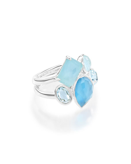 Ippolita 925 Rock Candy Multi-Stone Ring in Blue
