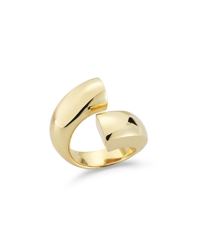 Moore 23K Gold-Plated Ring