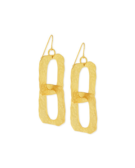 Structured Double-Drop Earrings