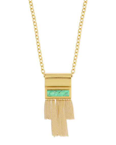 Stephanie Kantis Waterfall Long Pendant Necklace
