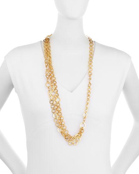 Triple Regency Link Necklace
