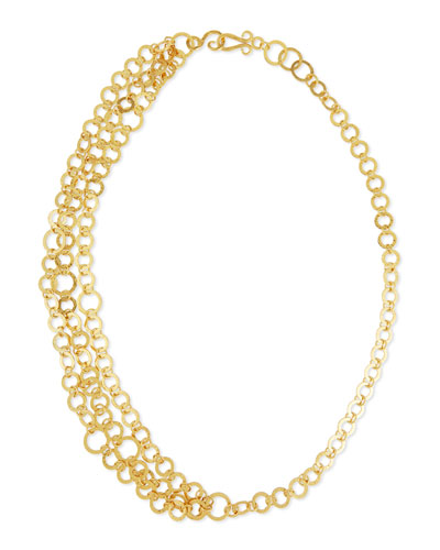Triple Regency Link Necklace