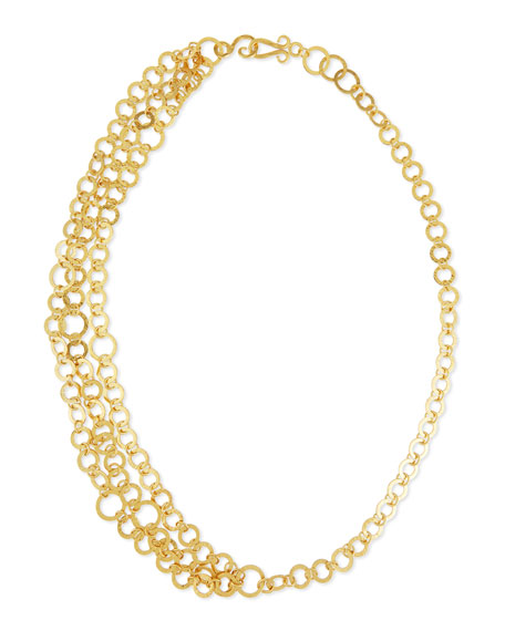 Stephanie Kantis Triple Regency Link Necklace