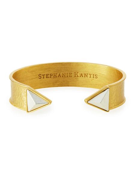 Stephanie Kantis Trio Triangle Cuff Bracelet