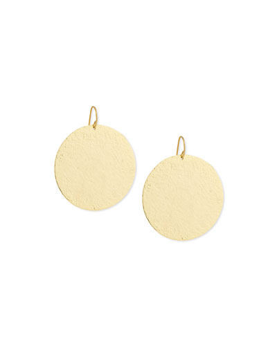 Paris Large Disc Earrings