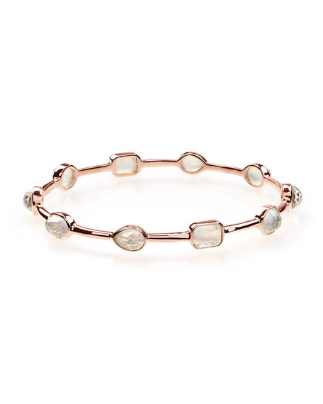 Rosé Rock Candy Medium Station Bracelet