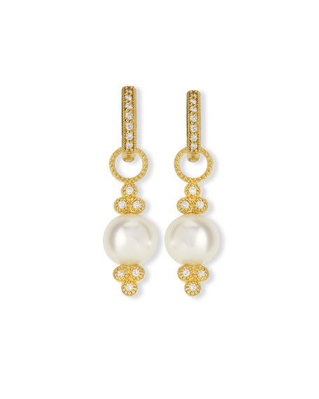 JudeFrances Jewelry Small 18K Gold Provence Pearl &