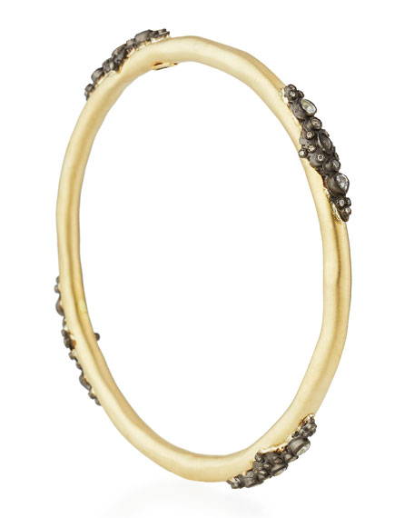 Old World Midnight Lacy Diamond Bangle