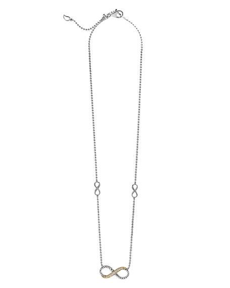 Beloved Diamond Infinity Link Necklace