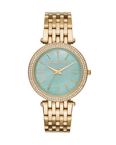 39mm Darci Golden Bracelet Watch