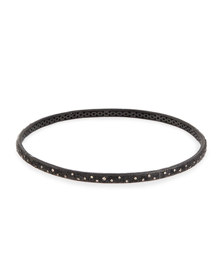 Armenta New World/Midnight Bangle Bracelet Twpm1NOpz