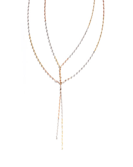 Blake Three-Tone Layered Necklace