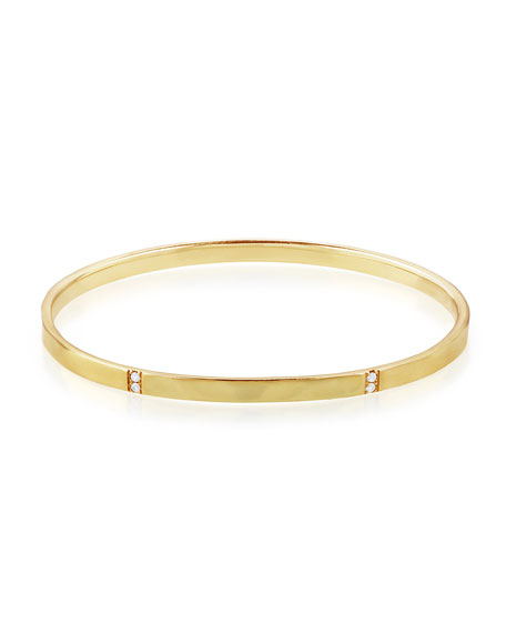 Ippolita 18K Gold Senso™ 5-Section Bangle with Diamonds,