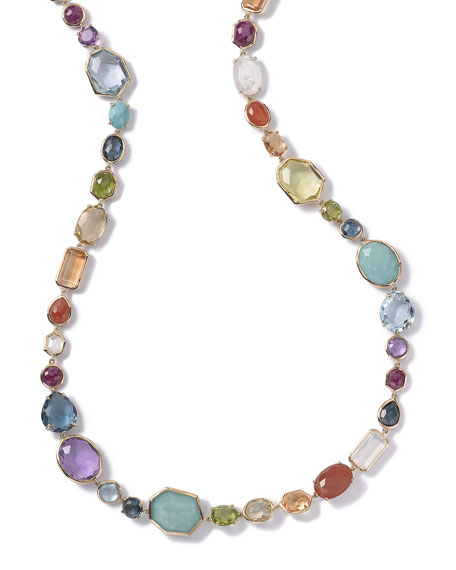 Ippolita Multi-Stone Single-Strand Necklace in Summer Rainbow