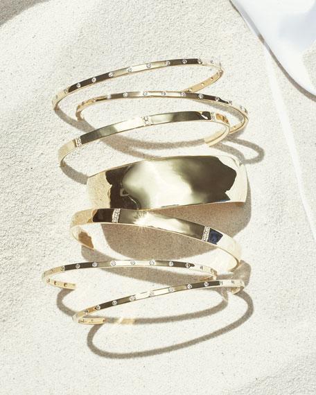 18K Gold Senso™ Medium Organic Cuff Bracelet