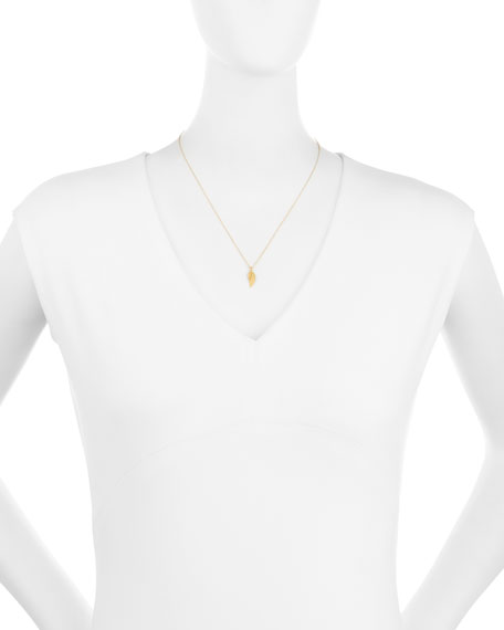 Love and Light Angel Wing Pendant Necklace