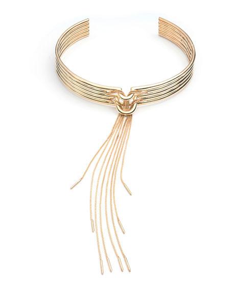 Neo Tassel Collar Necklace