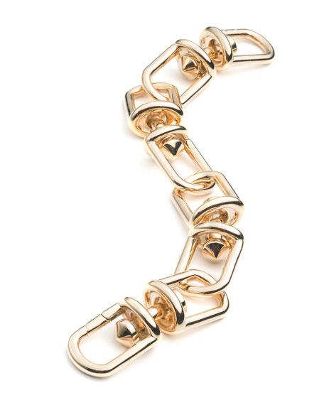 Fame Golden Link Bracelet
