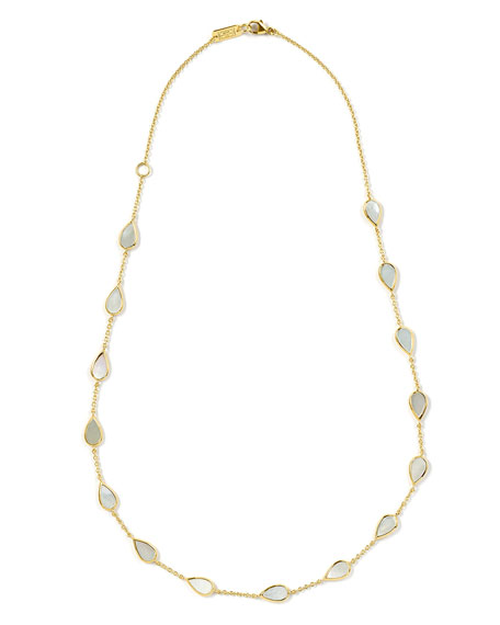 Ippolita 18K Rock Candy Small Mother-of-Pearl Pear-Station