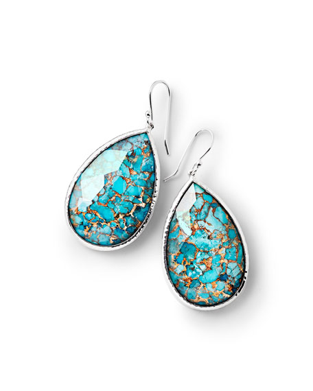 Ippolita 925 Rock Candy Large Turquoise Pear Drop