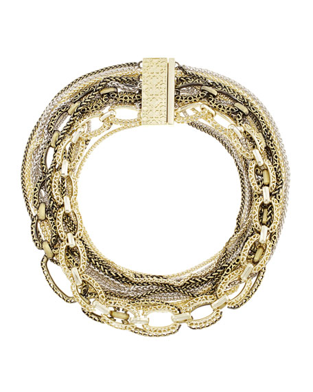 Kendra Scott Marci Multi-Chain Necklace, Mixed Metal
