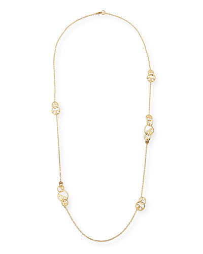 Thames Rosary Station Necklace