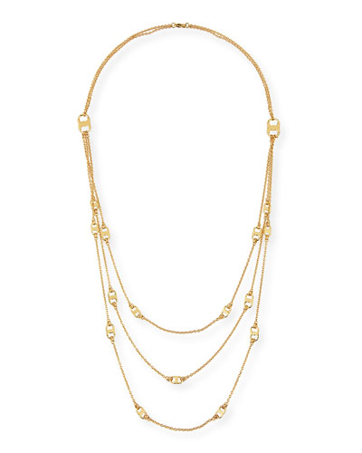Gemini Multi-Strand Link Necklace