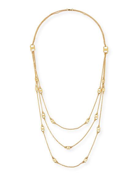 Gemini Multi-Strand Link Necklace