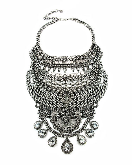 Falkor III Two-Piece Statement Necklace