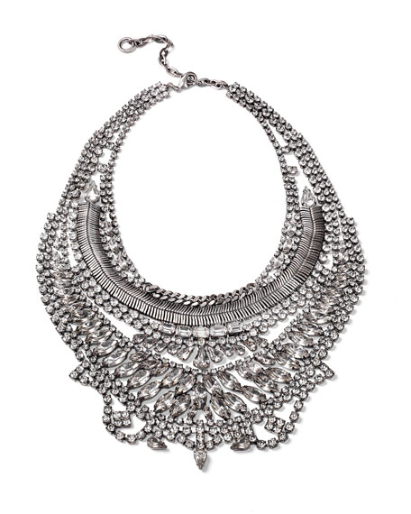 Bobbie Crystal Statement Necklace