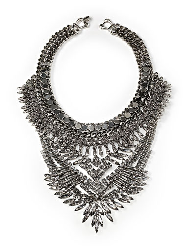 Riley Crystal Statement Necklace