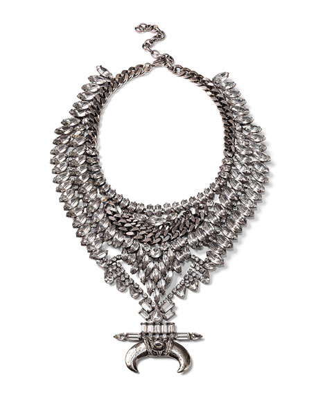 Bowie Crystal Statement Necklace