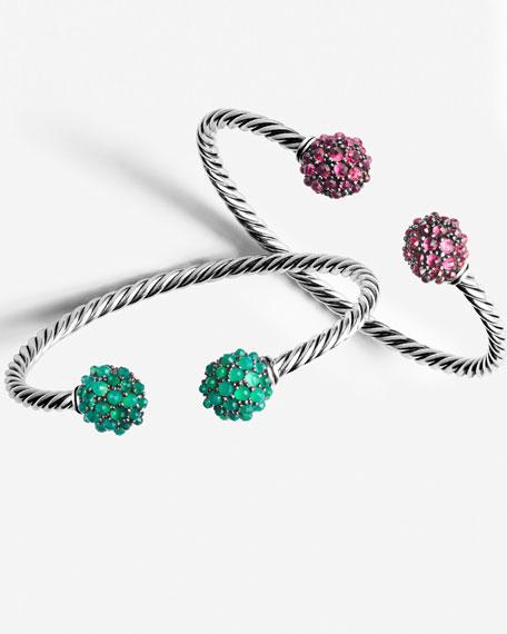 Osetra Faceted Garnet Bracelet