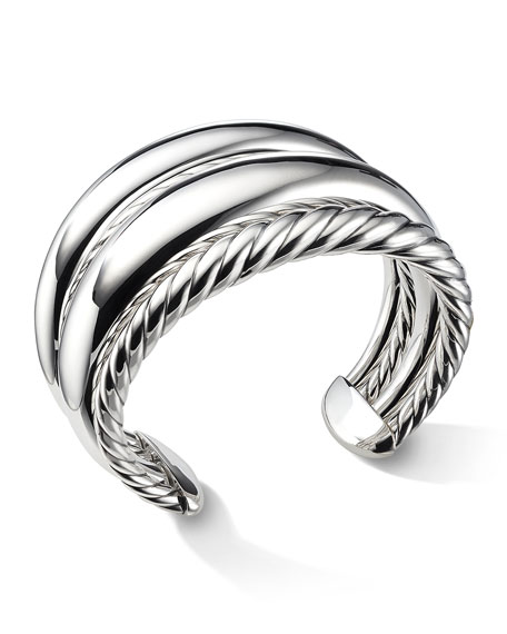 David Yurman 42mm Pure Form Four-Row Bracelet
