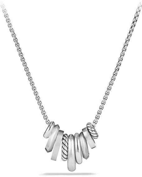 Stax Small Multi-Pendant Necklace with Diamonds