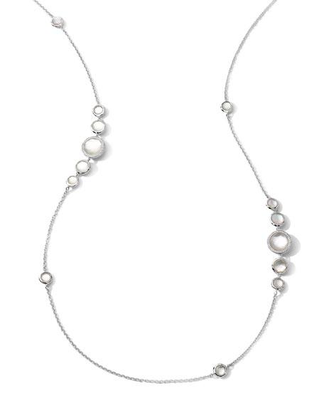 Ippolita Stella Mother-of-Pearl & Diamond Station Necklace, 37