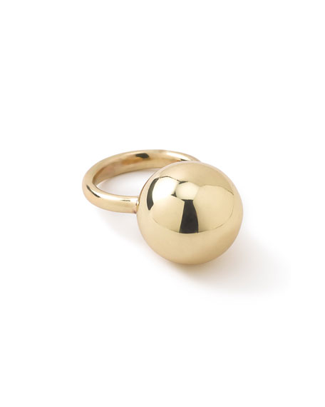 Ippolita 18K Glamazon Ball Ring, Size 7