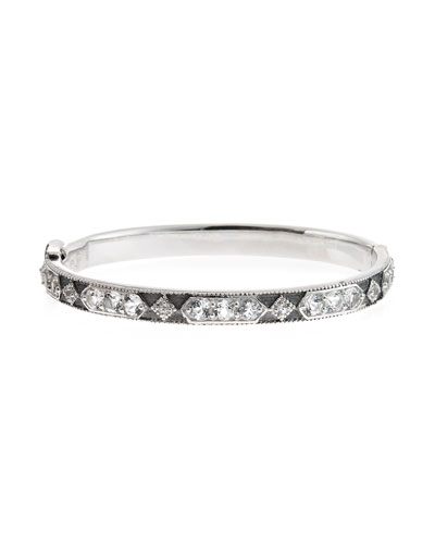 Encore Lisse White Topaz Bangle